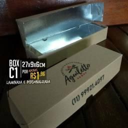 Embalagens Caixas Personalizadas delivery alimentos, galeto, pizza, laminadas, hotbox
