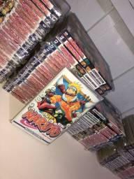 Título do anúncio: Colecao completa manga Naruto