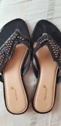 3 sandalias rasteirinhas