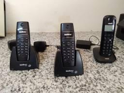 Telefone sem fio Intelbras/vtech
