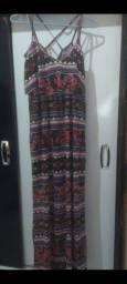 Vestido de malha de algodão, tam.38,40,novo