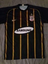 Camisa Corinthians Dourada Libertadores 2005