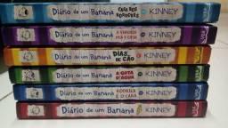 6 livros diário de um banana