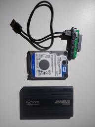 Kit HD 500GB Externo USB WD