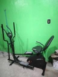 Vendo Bicicleta Ergométrica Horizontal e Elíptico Magnetico Dream Fitness