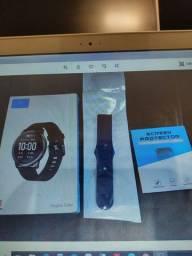 (Porto Alegre) Smartwatch Haylou Solar Xiaomi  Ls05 Lacrado e Completíssimo