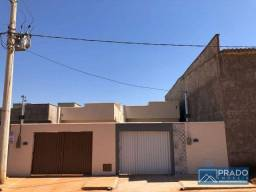 Casa com 2 dormitórios à venda, 70 m² por R$ 120.000 - Centro - Guapó/Goiás