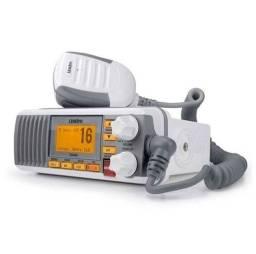 Radio VHF Uniden UM385W Branco Para Uso Exclusivo Em Embarcação