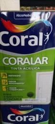 Promoção tinta Coral Acrilica 18 litros