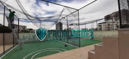 Proteção para coberturas: telas e redes de proteção