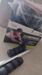 Roda para exercícios abdominais em casa