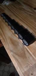 Kit pentes premium original da whal / pentes de maquina de cortar cabelo.