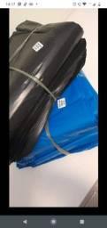 Título do anúncio: Sacos de lixo reforçado embalagens lisa direto de fabrica