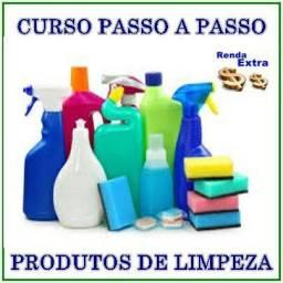 Curso Para Fabricação de Produtos de Limpeza + Produtos de Higiene