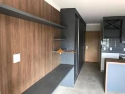 Apartamento com 1 dormitório para alugar, 34 m² por r$ 1.100/mês - santa cruz do josé jacq