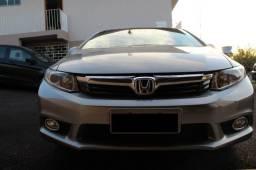 Honda civic lxr 2014 único dono - 2014