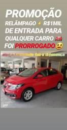 Hoje! R$1MIL DE ENTRADA (PRISMA 1.4 LT 2014 COMPLETO)SHOWROOM AUTOMÓVEIS - 2014