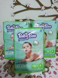 3 Pcts Fraldas Baby Boo - P