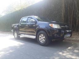 Hilux SRV 3.0 couro manual diesel ano 08/08 - 2008