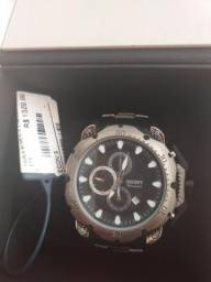 Relógio Orient Original de titanium nota fiscal 100m zap *71