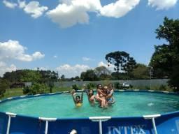 Chácara para eventos com piscina,