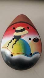 Instrumento Ocarina Asteca comprar usado  Londrina
