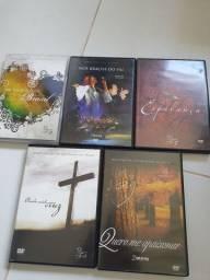 05 Dvds religiosos Diante do trono
