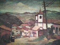 Dupla de posters do famoso pintor mineiro Guignard