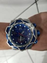 Relógio Invicta Bolt 21357 Prata / Azul<br><br>