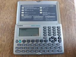 Agenda Eletrônica Casio Digital Diary Sf-3600gd-w 64kb