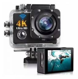 Câmera Wifi Ultra Hd a Prova D'água Esporte Mergulho Hd 1080p 4k