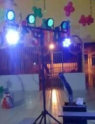 Aluguel de Iluminação Canhões de led