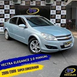VECTRA 2009/2009 2.0 MPFI ELEGANCE 8V FLEX 4P MANUAL