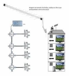 Manutenção e ádecuacao antenas predial