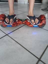 Hoverboard Kart Com Carrinho e Bluetooth e Led