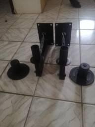 Suporte De Parede Para Caixas Acústicas 35kg Spc 35 C/ 2 Pçs