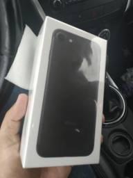 Iphone 7 Black lacrado (parcelo no cartão)