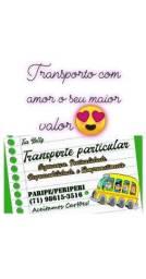 Trasporte particular /paripe/periperi