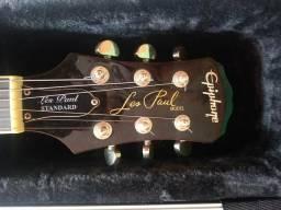Guitarra les paul epiphone + caser gator original