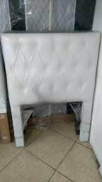 Cabeceira solteiro - tecido suede ou corino - Direto da Fábrica