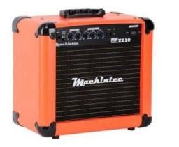 Amplificador Mackintec Maxx 10 15W laranja 110V/220V