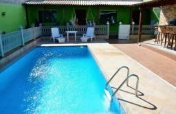 Aluguel temporada casa com piscina em Cabo frio