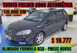 Toyota fielder 2006 blindado - 2006