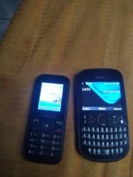 Celular Positivo e Nokia