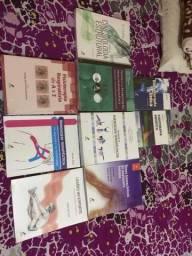 Coleção de livros anatômicos, entre outros