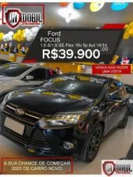 Ford Focus 1.6 S/1.6 SE Flex 16v 5p Aut - 2014