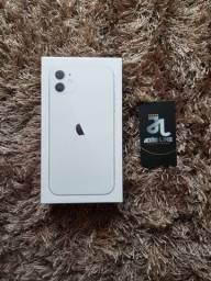 IPHONE 11, 64GB, NOVO, ZERO, BRANCO, OFERTA