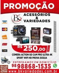 Câmera Action Go Cam Pro Ultra 4k Sport Wifi Hd Prova Dágua- (Loja BK Variedades)