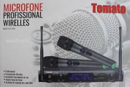 COD: 0749 Microfone Sem Fio Profissional Wirelles Tomate Mt-2202