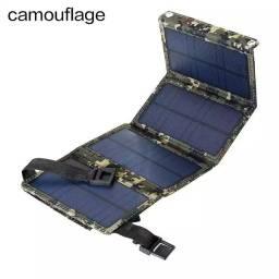 Placa solar ? com USB imbutido
